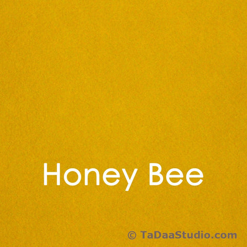 Honey Bee Bamboo Felt