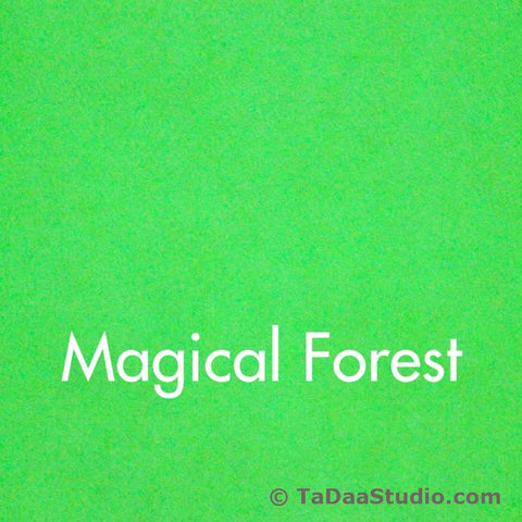 Magical Forest Wool Felt