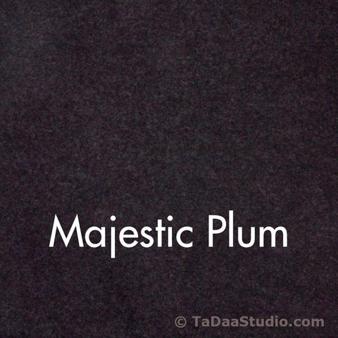Majestic Plum Wool Felt