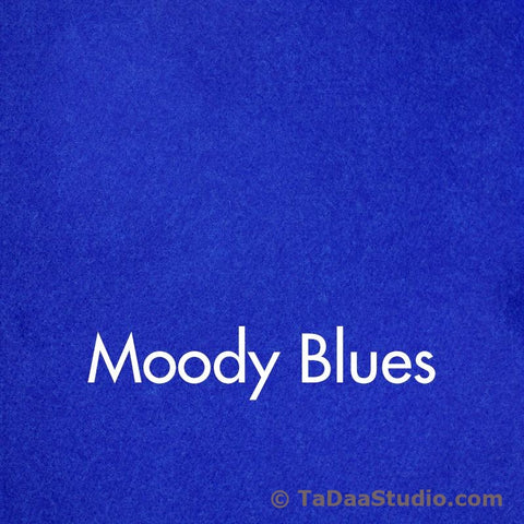 Moody Blues Wool Felt
