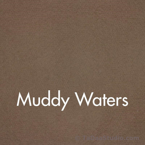 Muddy Waters Wool Felt