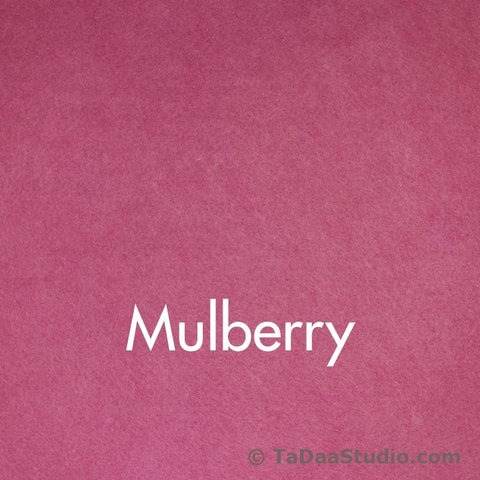 Mulberry Wool Felt