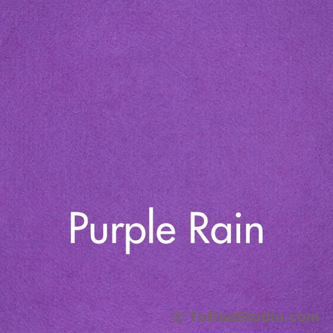 Purple Rain Wool Felt