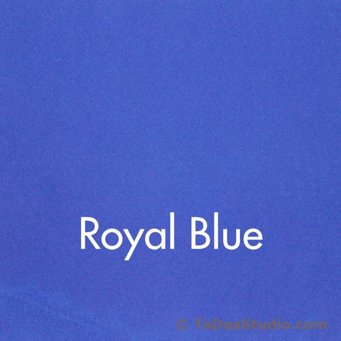 Royal Blue Wool Felt