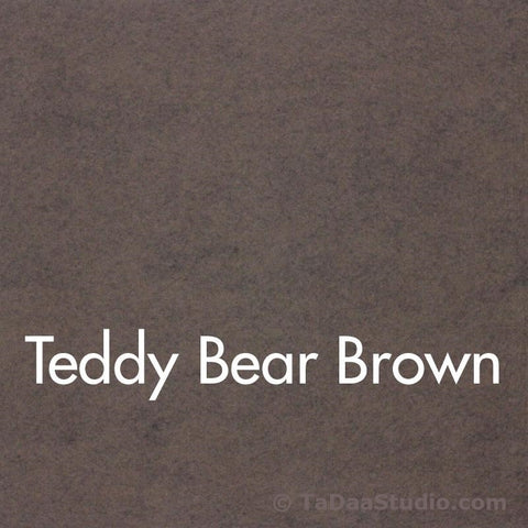 Teddy Bear Wool Felt
