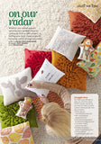 Rosette Pillow in Better Homes & Gardens Do It Yourself magazine Fall 2013