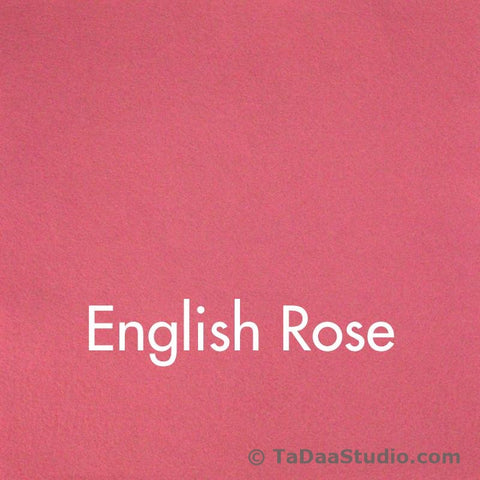 English Rose Wool Felt