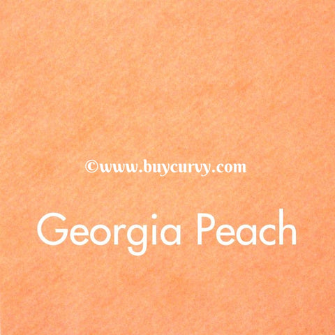 Georgia Peach Wool Felt
