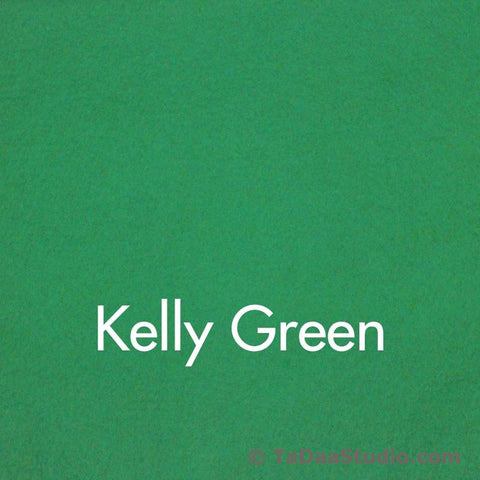 Kelly Green Wool Felt