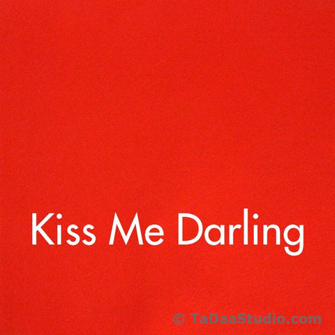 Kiss Me Darling Wool Felt