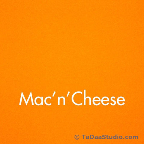 Mac'n'Cheese Wool Felt