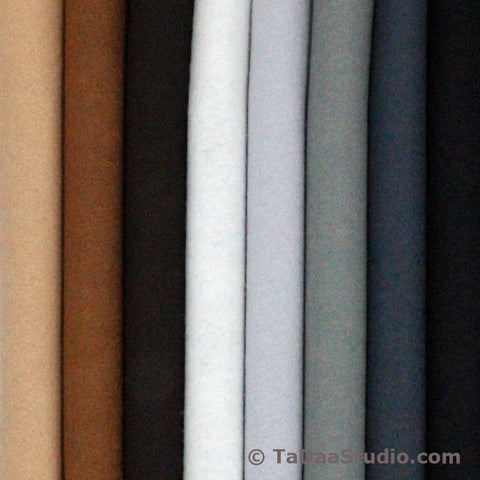 Neutral Colors Bamboo Felt Palette