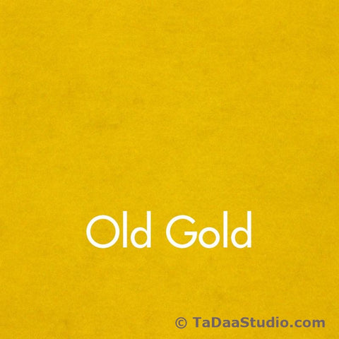 Old Gold Wool Felt