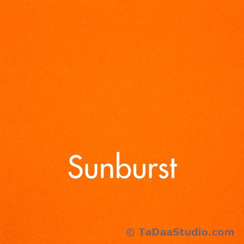 Sunburst Wool Felt