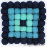 Wool Felt Ball Trivets