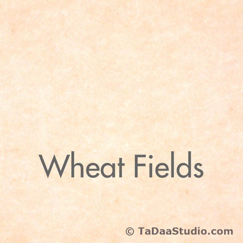 Wheat Fields Wool Felt