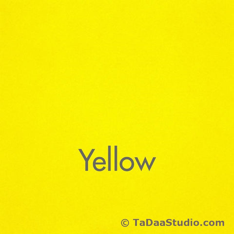 Yellow Wool Felt