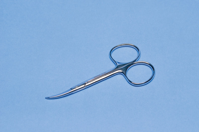 Shortbent Stitch Scissors (M9101)-Pro-Optics LLC