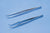 Cilia Tweezer/Forceps - Serrated Tip (VG57838)-Pro-Optics LLC