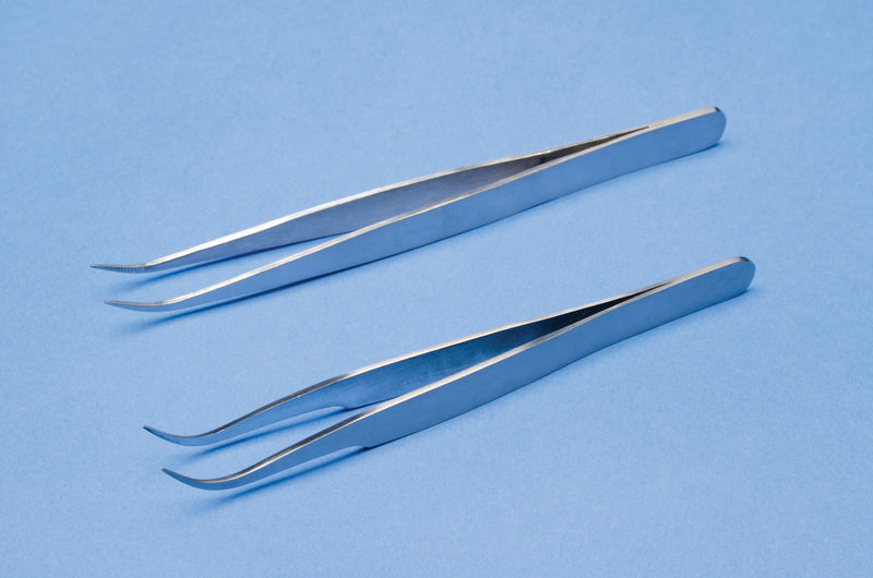Cilia Tweezer/Forceps - Smooth Tip (VG57835)-Pro-Optics LLC
