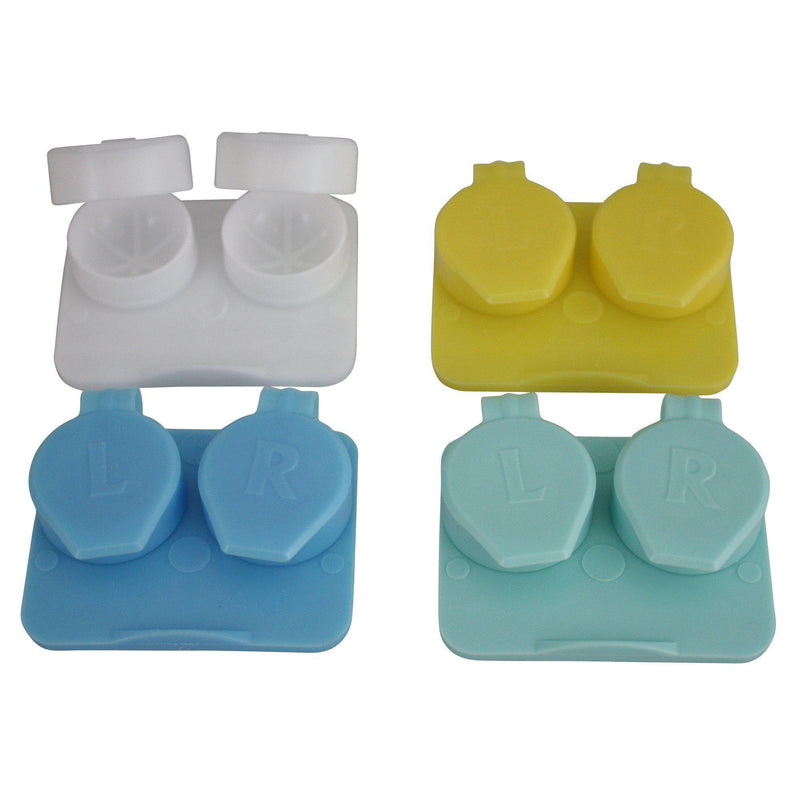 Optic Shop Flip-Top™ Contact Lens Case - 2 Pack (125)-Pro-Optics LLC