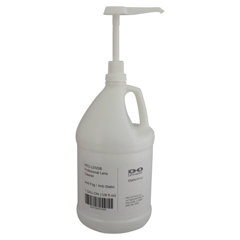 Pro-Lens™ Cleaner Spray - Gallon Refill Bottle (111-128)-Pro-Optics LLC