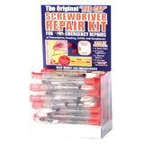 The Original Red Cap Screwdriver Repair Kit With Blinking Light Display (187TUB)-Pro-Optics LLC