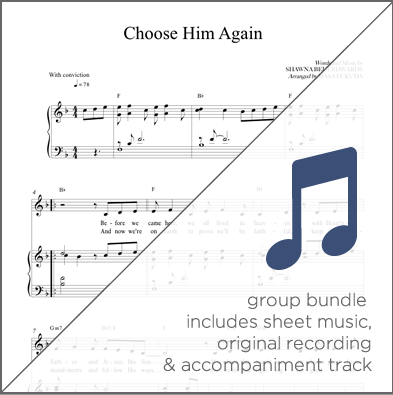 Choose Him Again - Group Bundle