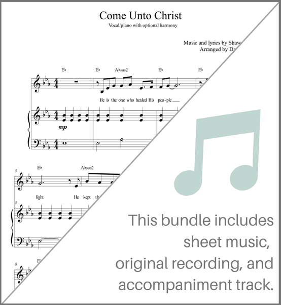 Come Unto Christ - Group Bundle