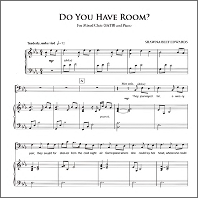 Do You Have Room (SATB - 10+ copies)