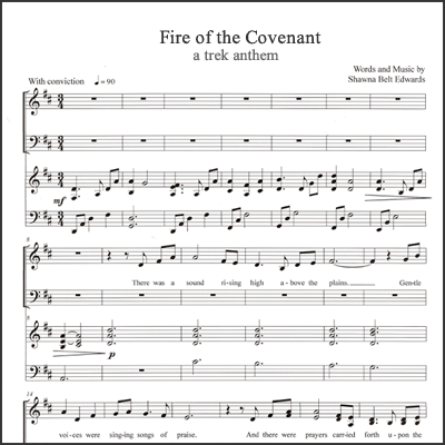 Fire of the Covenant (Youth Choir)