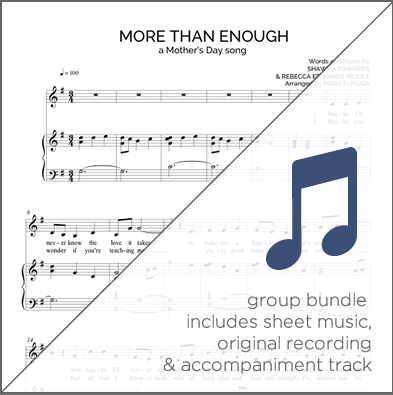 More Than Enough – Shawna Edwards Music