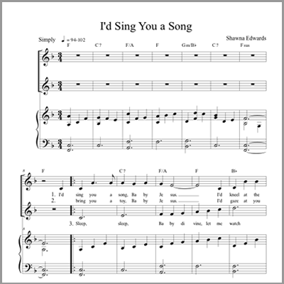 I'd Sing You a Song (Vocal)