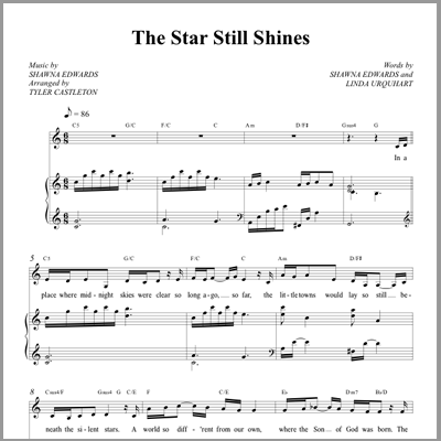 The Star Still Shines - Vocal & Piano