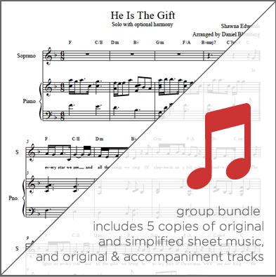 He is the Gift (Group Bundle)