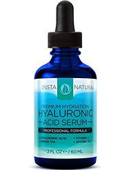 InstaNatural Hyaluronic Acid & Vitamin C Anti Aging Serum for Face- 2 fl. oz.