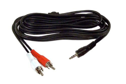 Belkin F8V235-12 2 RCA to 3.5mm Y cable 12-Feet