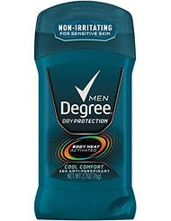 Degree Men Antiperspirant and Deodorant- Cool Comfort 2.7 oz(Pack of 6)