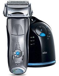 Braun Series 7 790cc-4 Electric Foil Shaver with Clean and Charge Station for Men