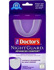 The Doctors NightGuard Advanced Comfort Dental Protector for Teeth Grinding- 1 pack
