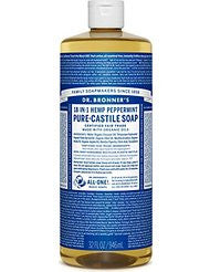 Dr. Bronners Peppermint Liquid Soap- 32oz
