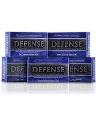 Defense Soap Antifungal 4 Ounce Bar (Pack of 5) - 100% Natural Pharmaceutical Grade Antibacterial Tea Tree Oil and Eucalyptus Oil Helps Wash Away Ringworm- Jock Itch- Acne- Psoriasis- Yeast- and Athletes Foot