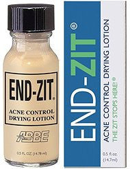 End-zit Acne Control Drying Lotion (Light/Medium)- 0.5 Ounce
