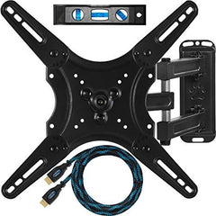 "Cheetah Mounts ALAMLB Articulating TV and Monitor Wall Mount for 23-49"" (some up to 55"")"