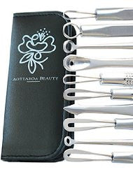 Blackhead Remover kit by Aotearoa Beauty- Comedone Extractor tools to fix all those Pimples! Safe & Easy clear and clear skin. No more Whiteneheads & Acne