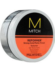 Paul Mitchell Men by Paul Mitchell Mitch Reformer Strong Hold/Matte Finish Texturizer for Men- 3 Ounce