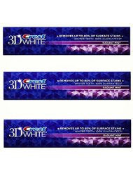 Crest 3D White Radiant Mint Flavor Whitening Toothpaste - 5.5 Oz - Pack of 3