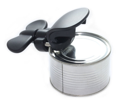 Bartelli Soft Edge 3-in-1 Ambidextrous Safety Can Opener Jar Opener and Bottle Opener