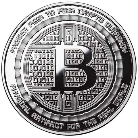 1oz Proof Bitcoin Guardian Commemorative Silver Round