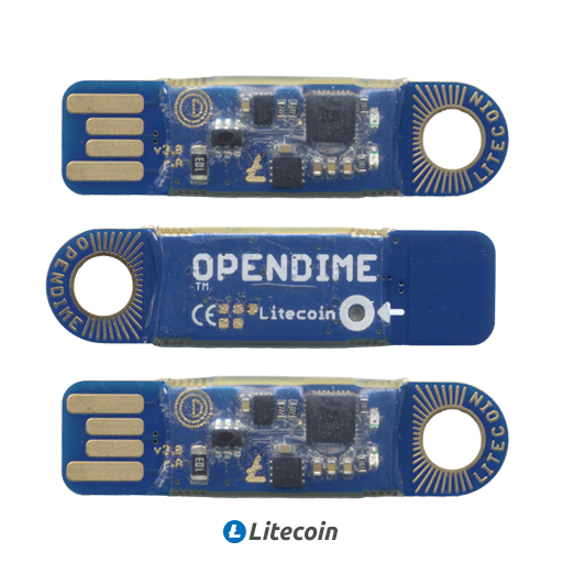 Opendime 3-Pack Litecoin